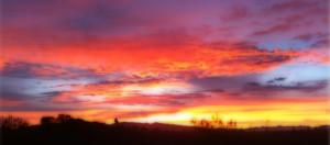 """""""Tucson Sunrise"""" by Walter A. Kniaz"""