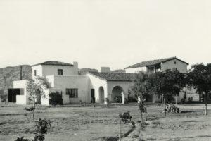 Robert T. Evans Paradise Valley Luxury Custom Residence Adobe Historic Preservation Spiral Architects Gene Kniaz Desert Landscape