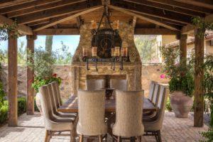 Silverleaf Scottsdale Luxury Custom Residence Spiral Architects Gene Kniaz Outdoor Dining Room