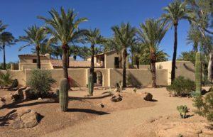 Paradise Valley Luxury Custom Residence Adobe Historic Preservation Spiral Architects Gene Kniaz Robert T. Evans Desert Landscape