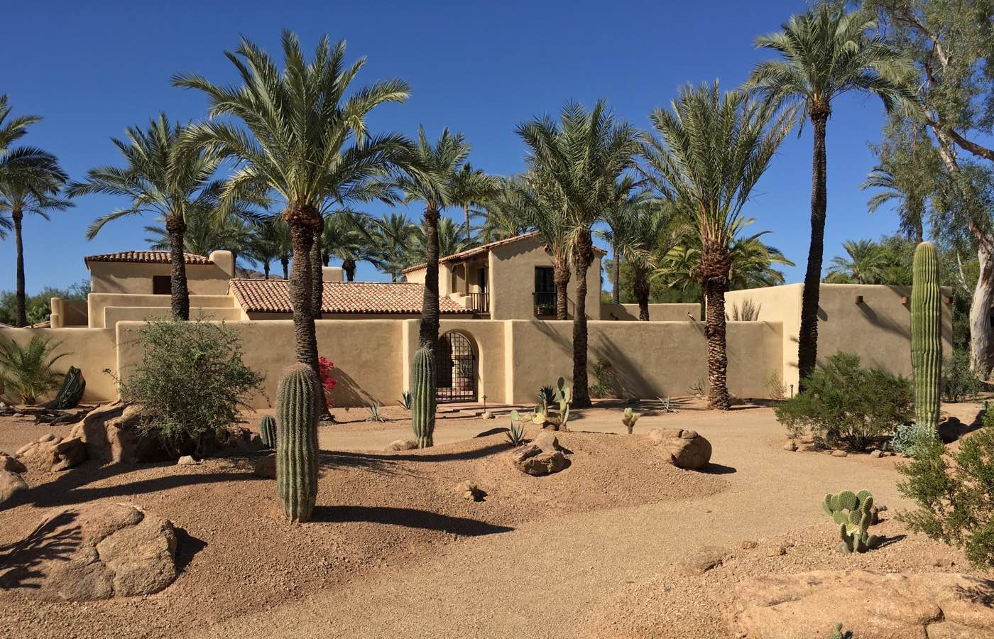 residential architects in arizona architects paradise valley adobe