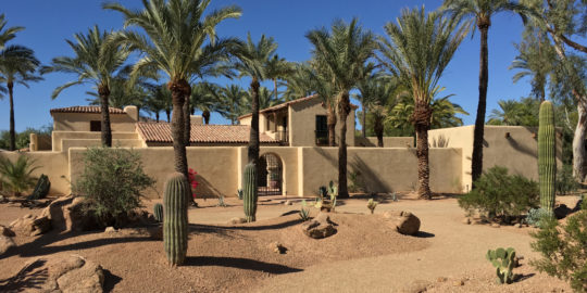 Paradise Valley Luxury Custom Residence Adobe Historic Preservation Spiral Architects Gene Kniaz