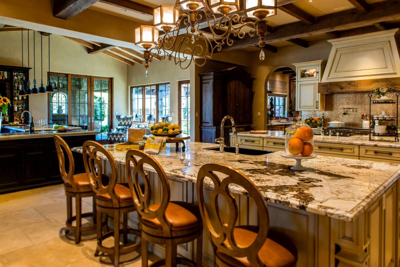 Silverleaf Scottsdale Luxury Custom Residence Spiral Architects Gene Kniaz Kitchen